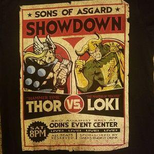 Marvel Shirts - Marvel Comics Sons of Asgard Showdown T-Shirt